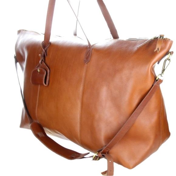 c1c26ea1054b Madewell Handbags - Madewell The Transport Weekender Duffle Bag